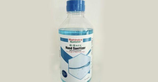 Mahindra Hand Sanitiser