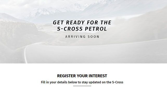 Maruti Suzuki S Cross Petrol Model