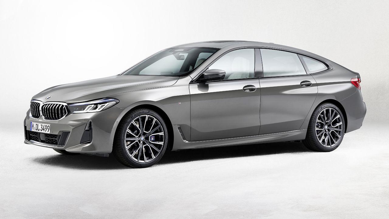 2021 bmw 6 series gt facelift unveiled  autox