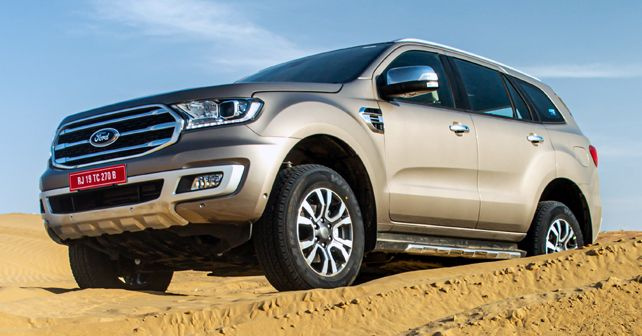 2020 BS6 Ford Endeavour