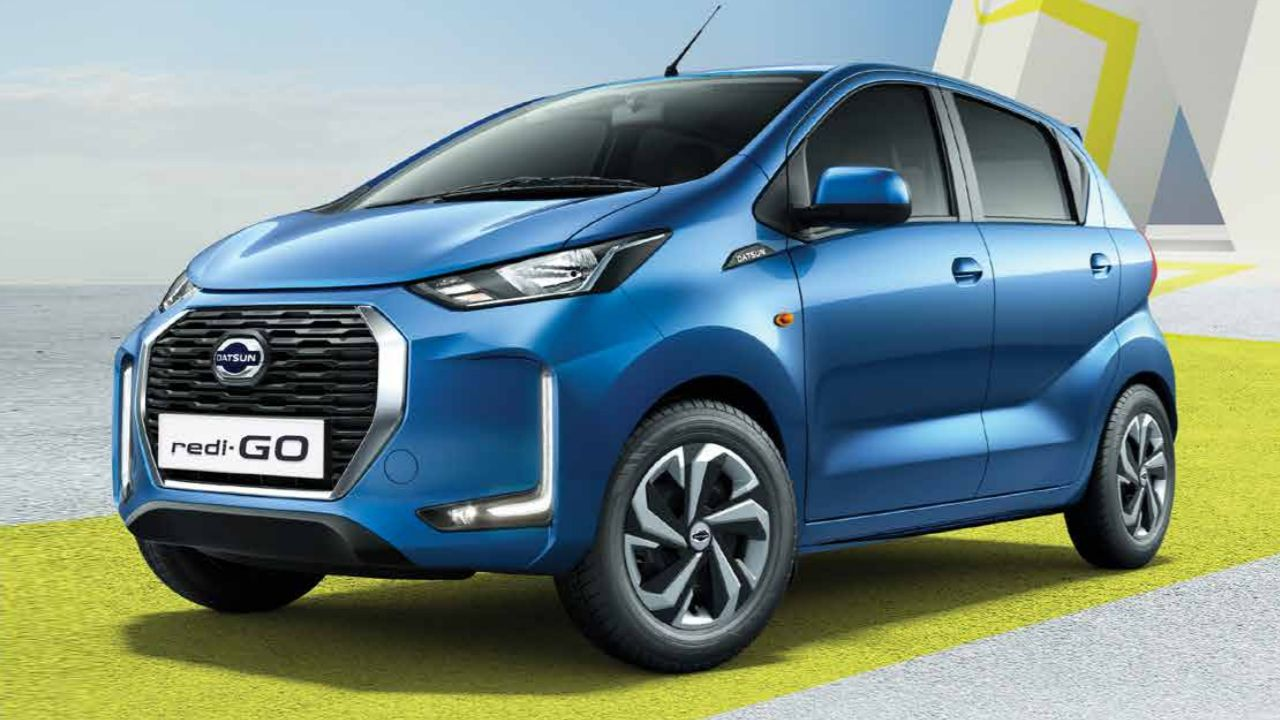 2020 Datsun Redi Go Face Lift India Launched