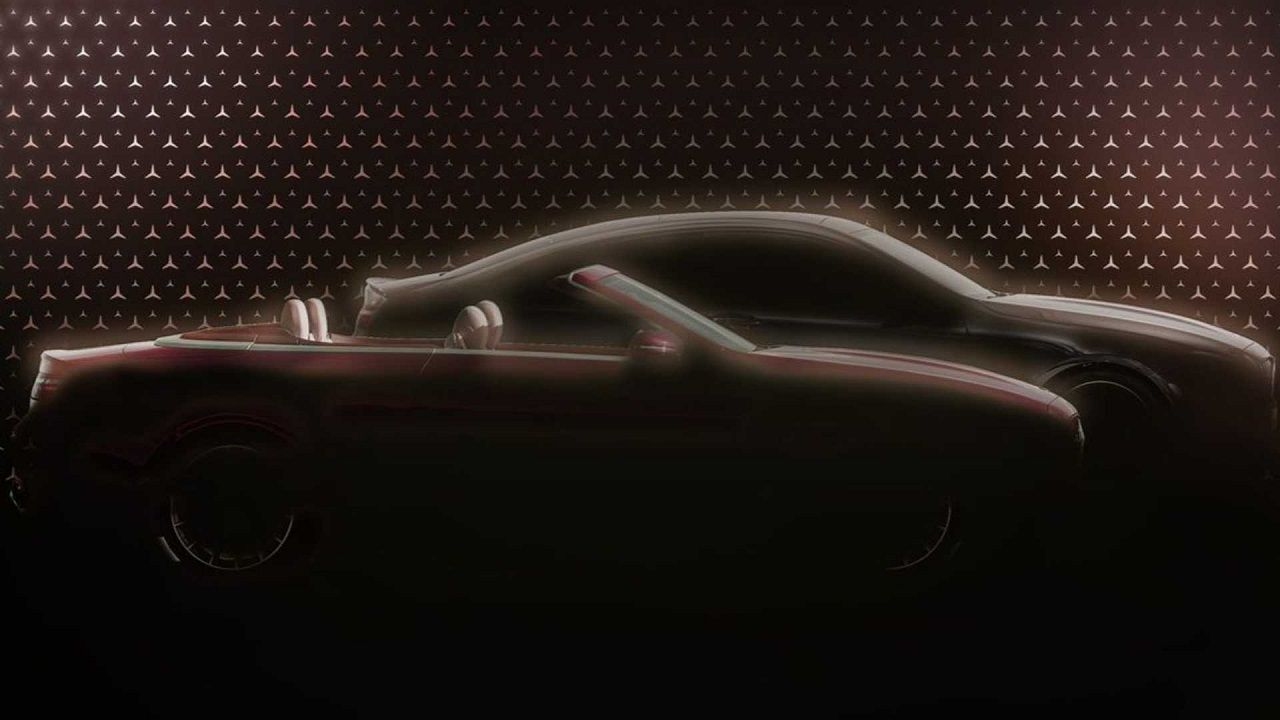 2021 Mercedes E Class Coupe Convertible Facelift Teased