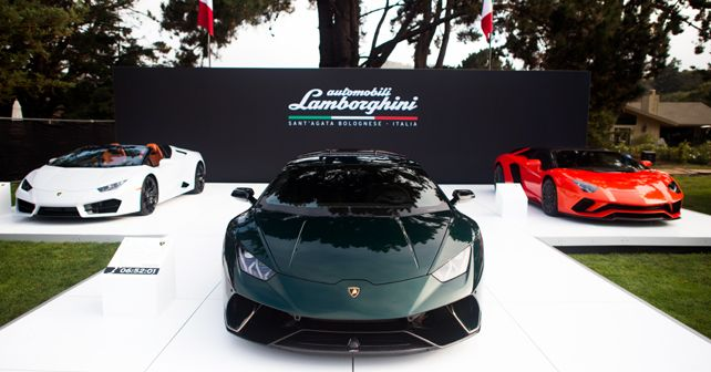 Lamborghini at the Monterey Car Week 2017