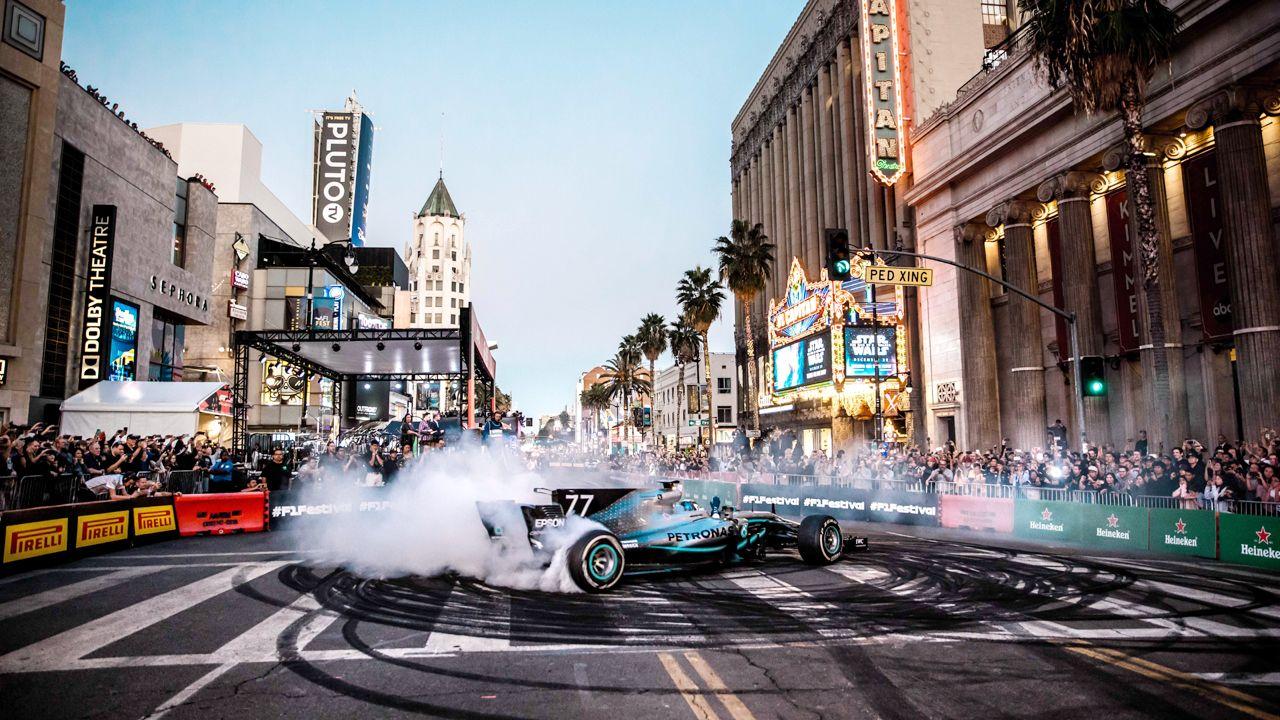 F1 Hollywood Show Run 2019