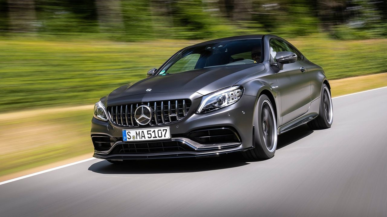 Mercedes Benz C63 S AMG Coupe Launched In India
