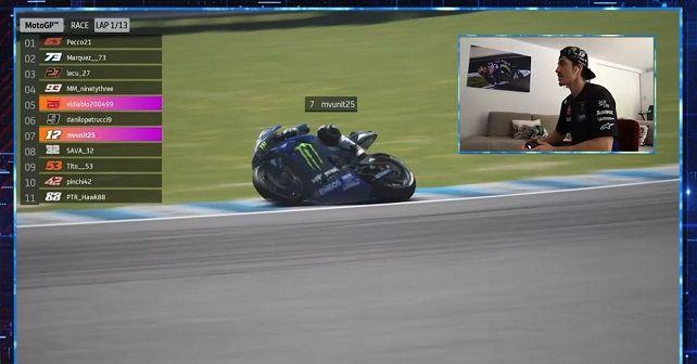 Vinales Wins Jerez Virtual Gp