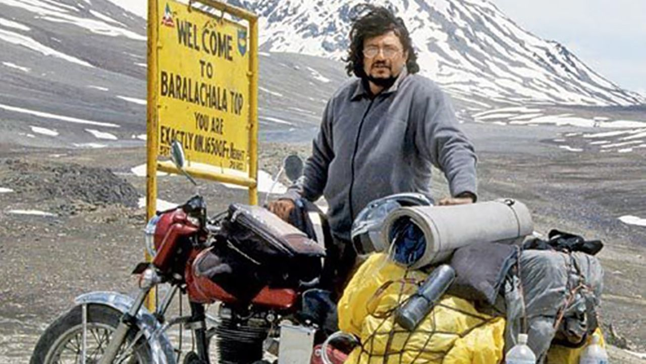 Gaurav Jani Riding Solo To The Top Of The World Filmmaker