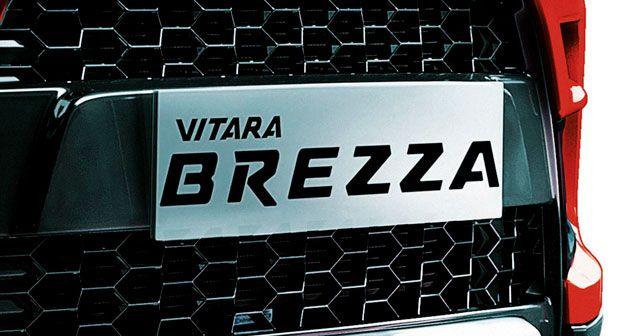 Maruti Suzuki Vitara Brezza Number Plate Housing