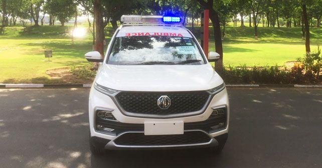 Mg Hector Ambulance