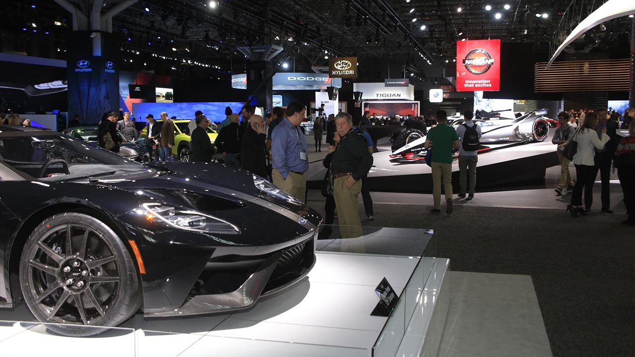 New York International Auto Show Ford Gt