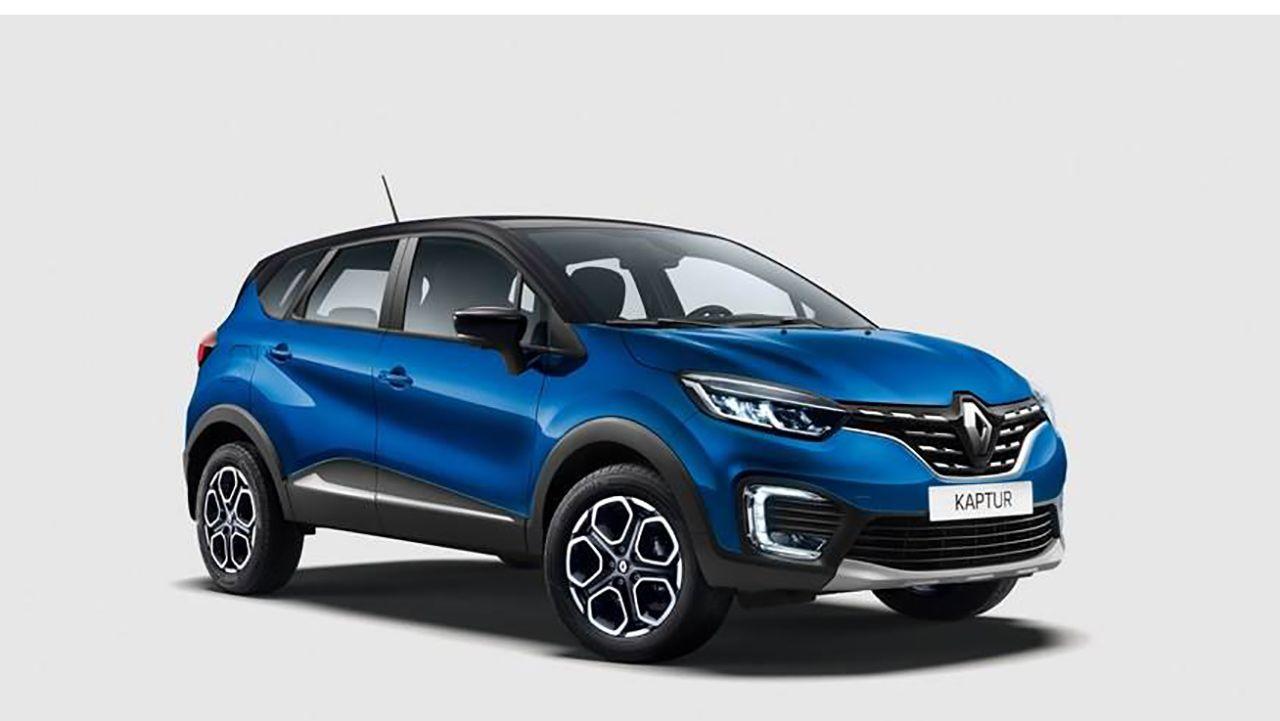 Renault Captur Face Lift India Bound Front Three Quarter