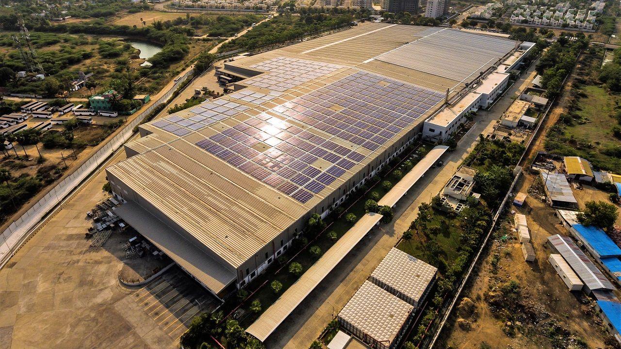 2 Solar Photovoltaic System At BMW Plant Chennai