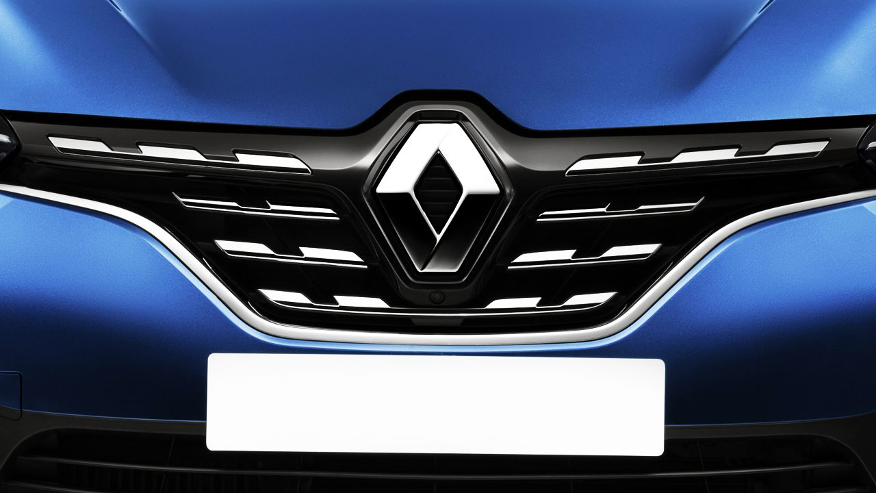 2020 New Renault Grille