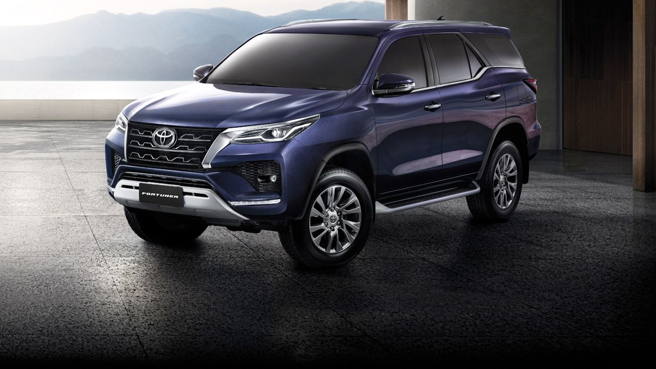 2021 Toyota Fortuner Facelift Base Model