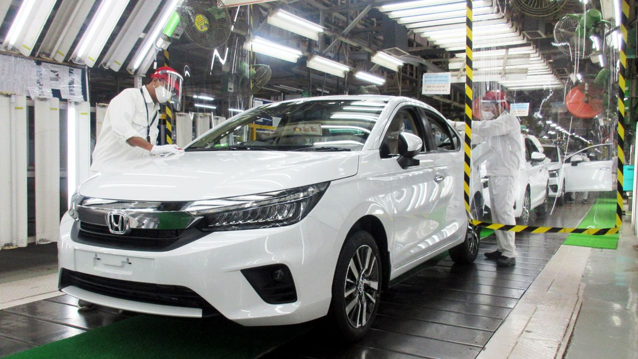 All New 5th Generation Honda City Production Begins In India