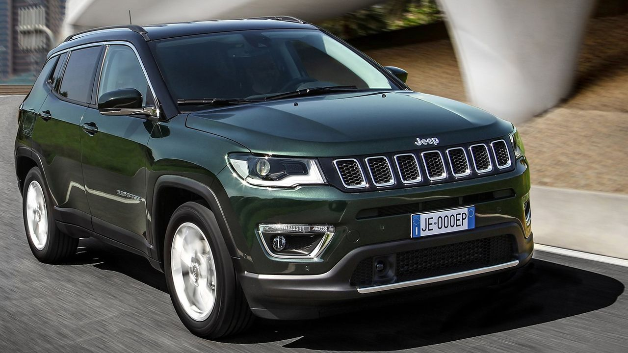 Jeep Compass Facelift Unveiled India Bound