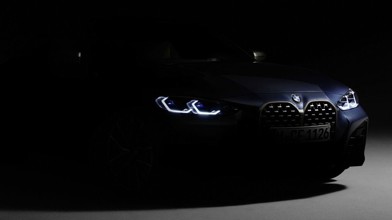 2021 BMW 4 Series teaser