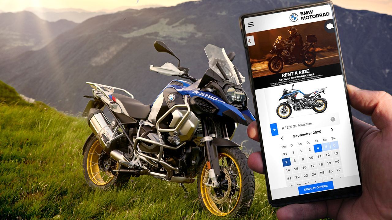 BMW Motorrad Rent A Ride