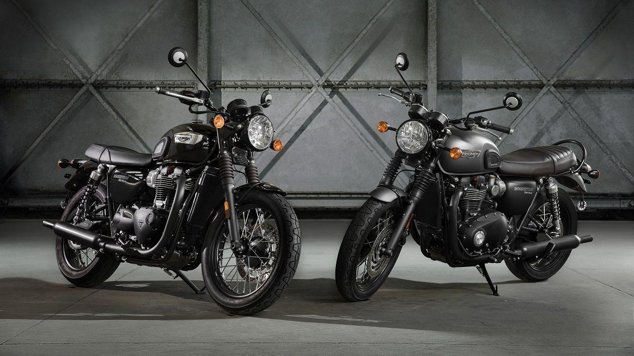 Triumph Bonneville T100 Black T120 Black India