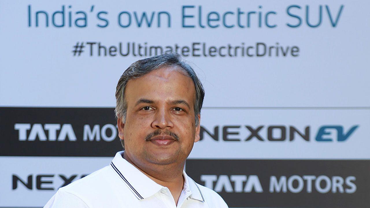 Anand Kulkarni Product Line Director EV X4 PVBU Tata Motors