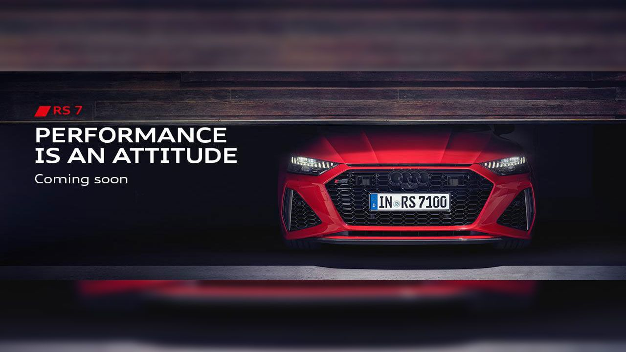 Audi Rs7 Teaser