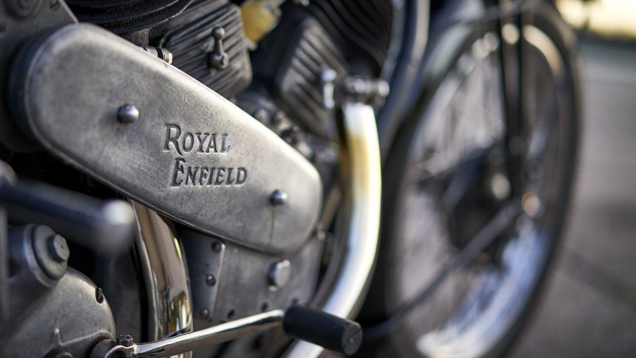 Royal Enfield Engraving Plate