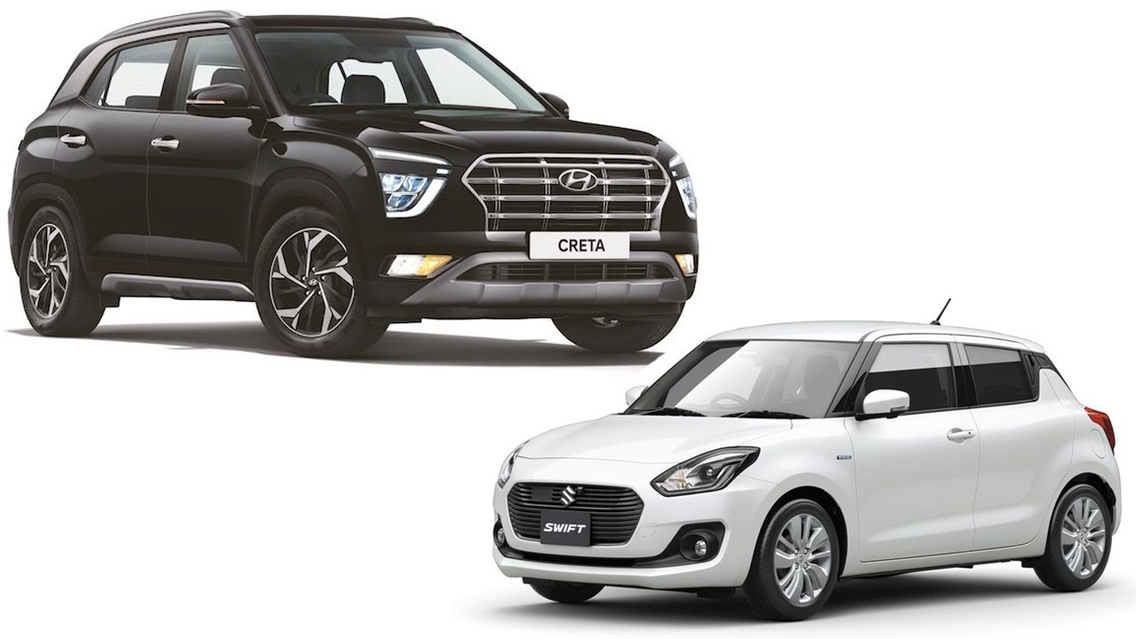 Hyundai Creta Maruti Suzuki Swift Cars India Sales May 2020