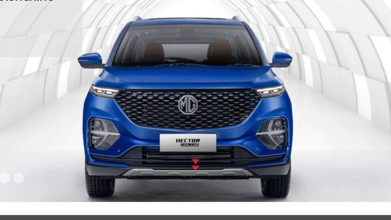 Mg Hector Plus Revealed Official Website Launch Soon