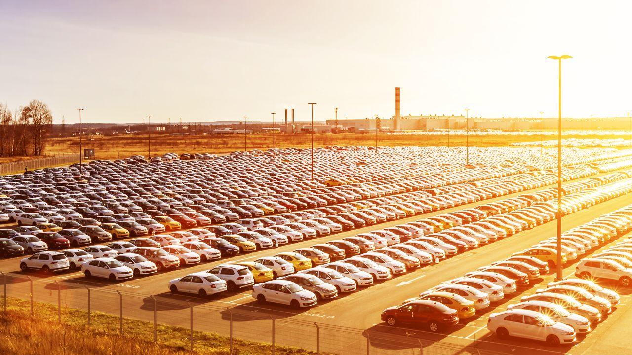 Car Stock Yard