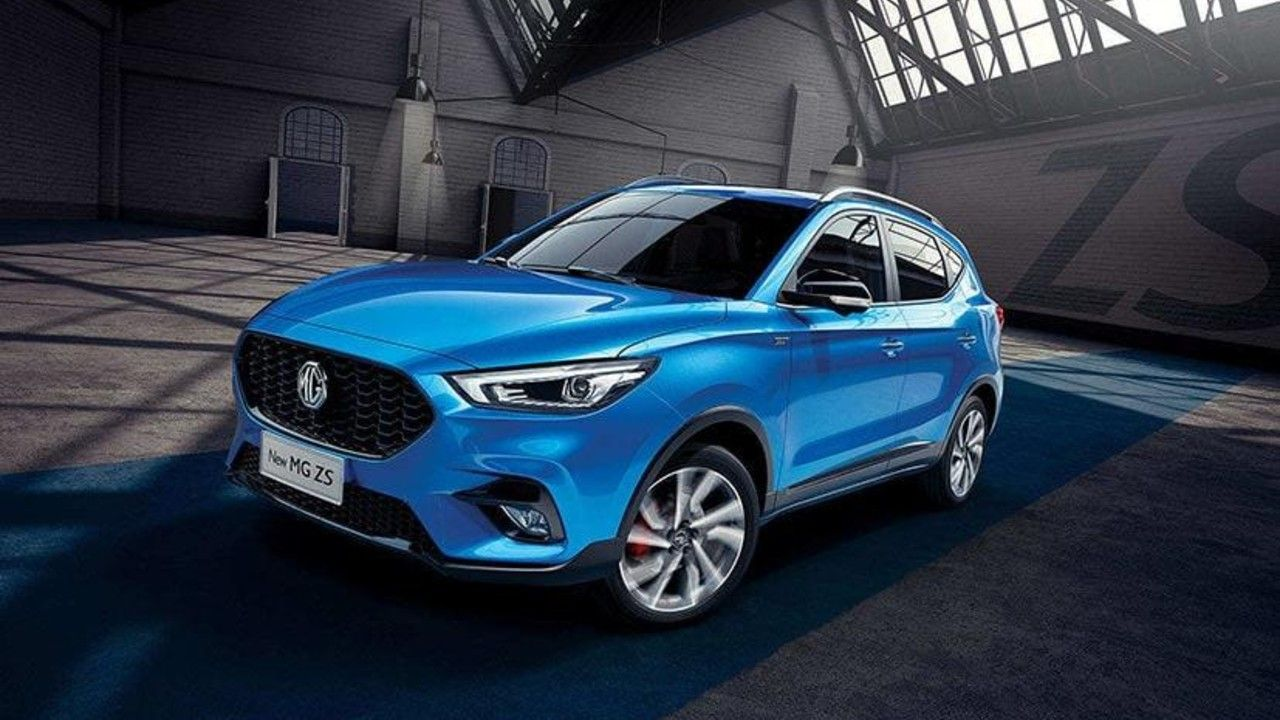 2020 MG ZS SUV Face Lift Revealed Ms