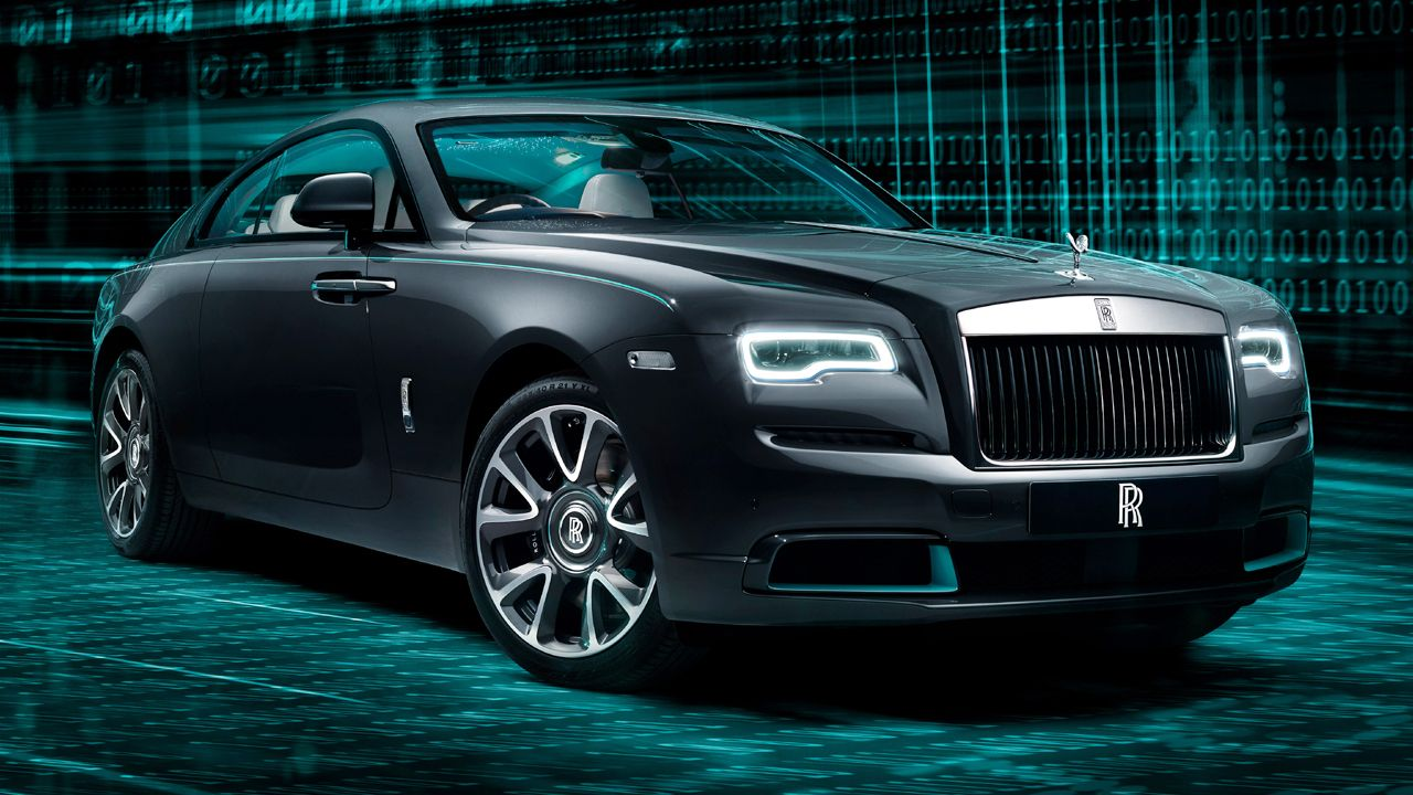 2020 Rolls Royce Wraith Kryptos Collection Front Quarter