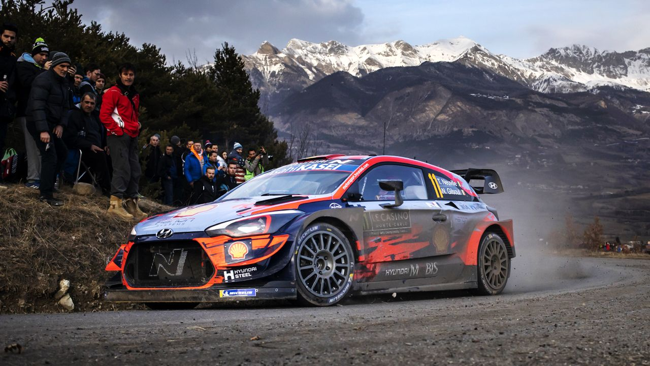 2020 WRC Monte Carlo Hyundai