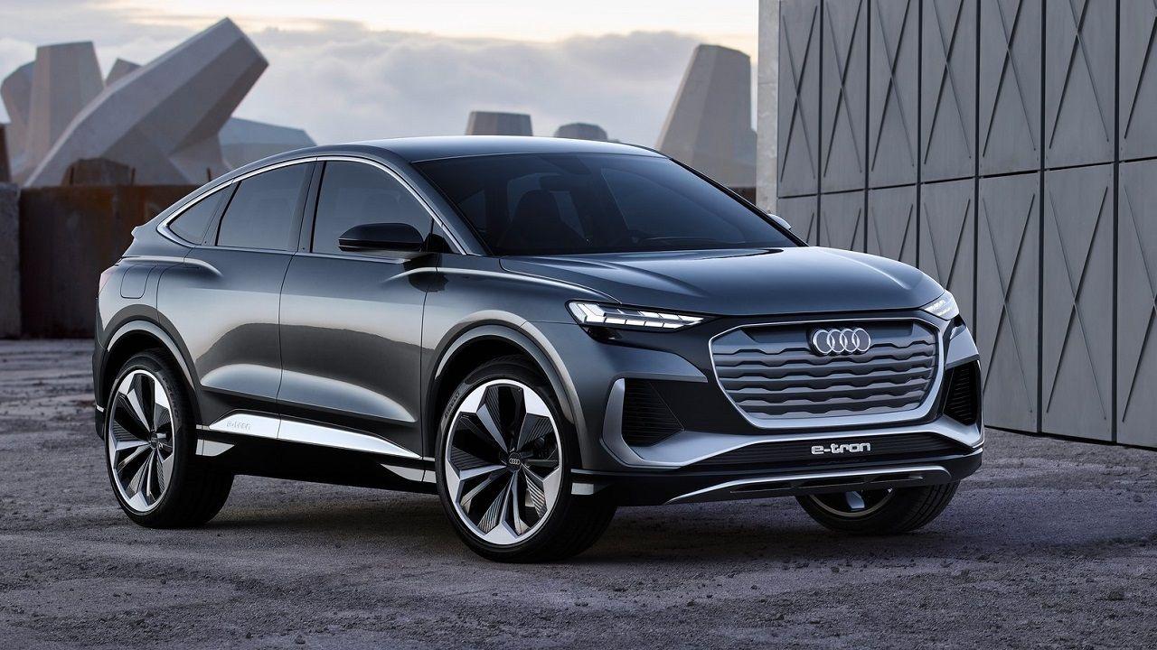 Audi Q4 Sportback E Tron Concept 2020