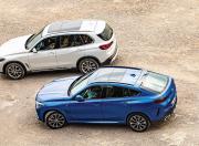 BMW X6 vs BMW X5 Side View