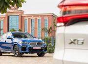 BMW X6 vs BMW X5 performance