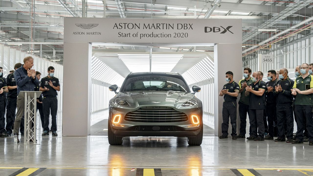 First Aston Martin DBX Rolls Off The Production Line In Wales