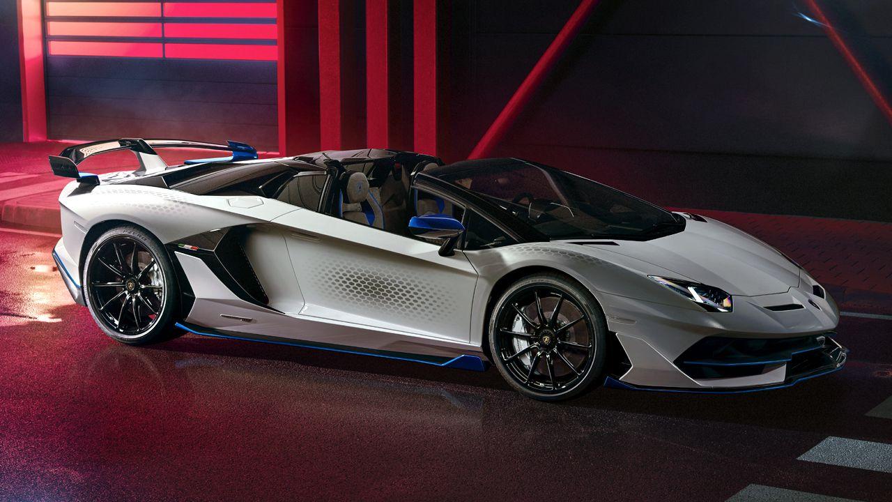 Lamborghini Aventador SVJ Xago Special Edition Side View Static