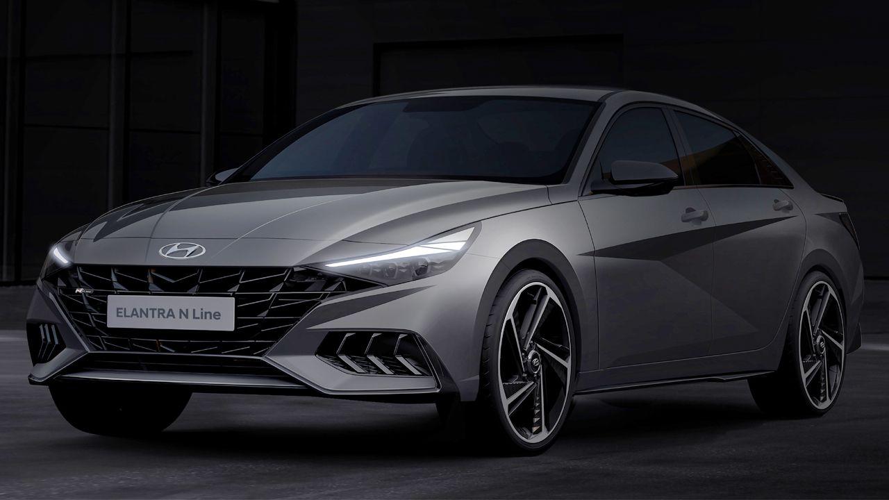 2021 Hyundai Elantra N Line Design Revealed
