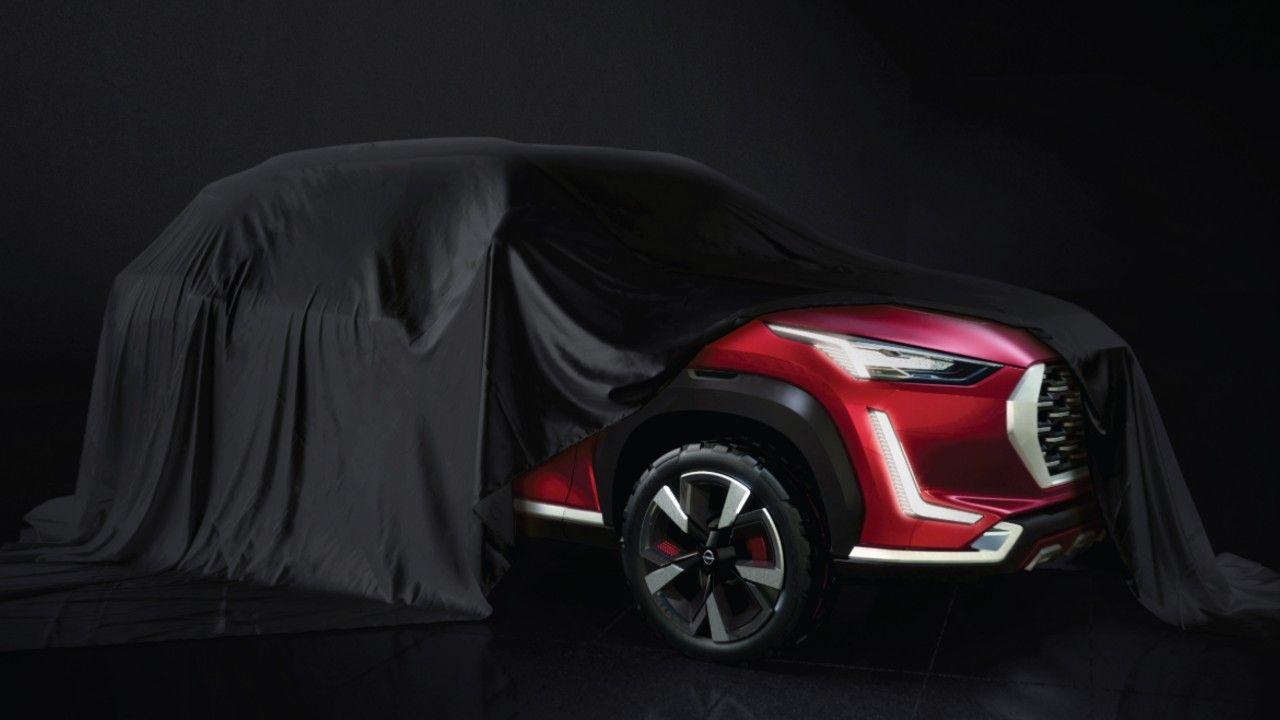 Nissan B SUV Teaser Magnite