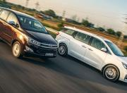 Toyota Innova Crysta vs Kia Carnival Comparison