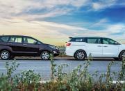Toyota Innova and Kia Carnival View Static