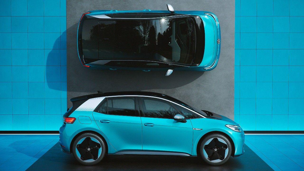 VW ID3 Side Profile