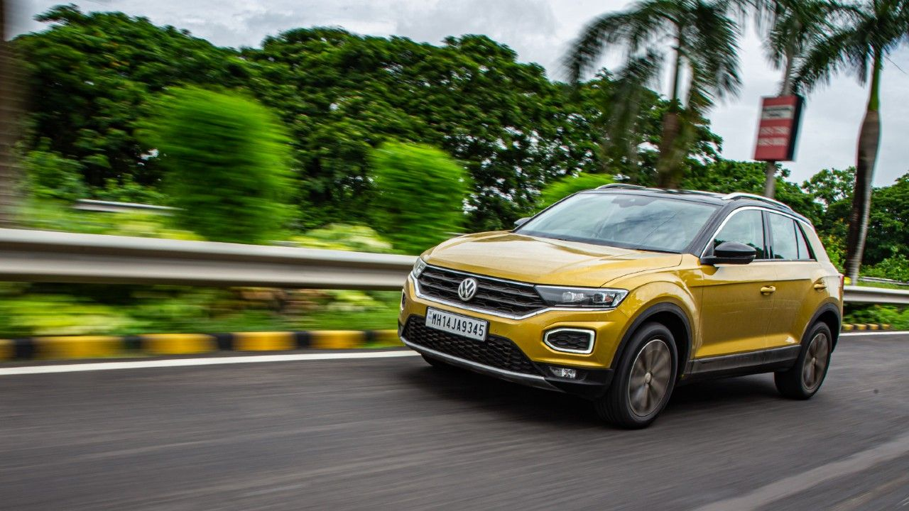VW T Roc In Action
