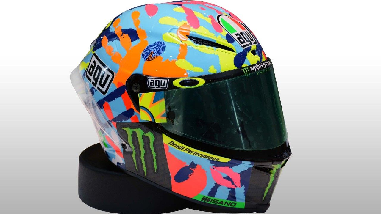 Valentino Rossi AGV Pista Helmet Misano