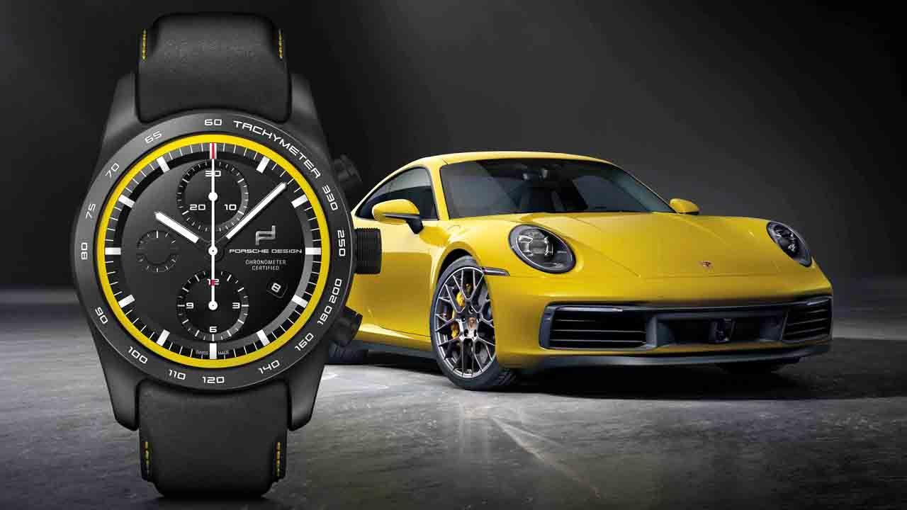 Porsche Design Custom Built Timepieces 911 Carrera 4S Racing Yellow