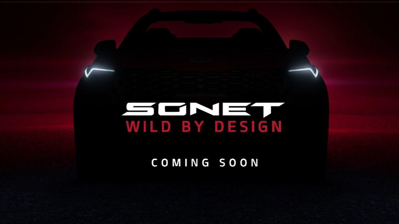 Kia Sonet Compact Suv Teaser