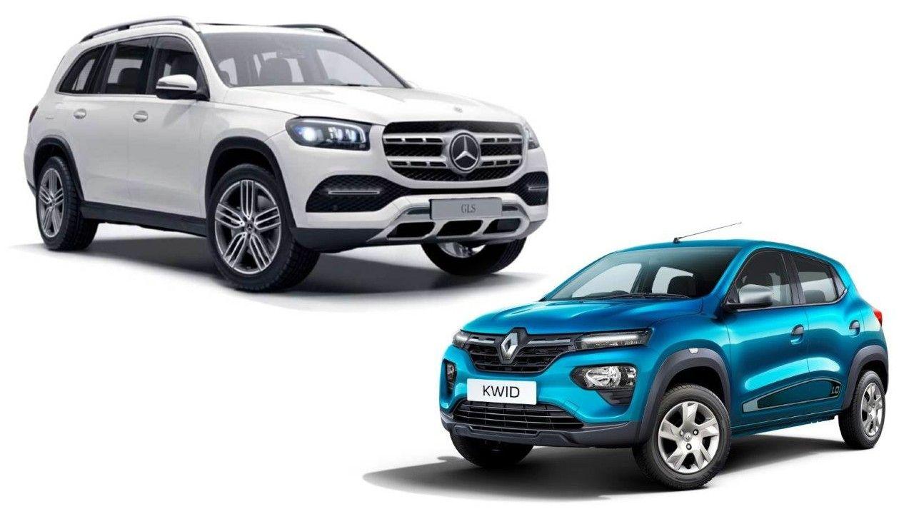 Mercedes Benz Gls Renault Kwid Service Initiative
