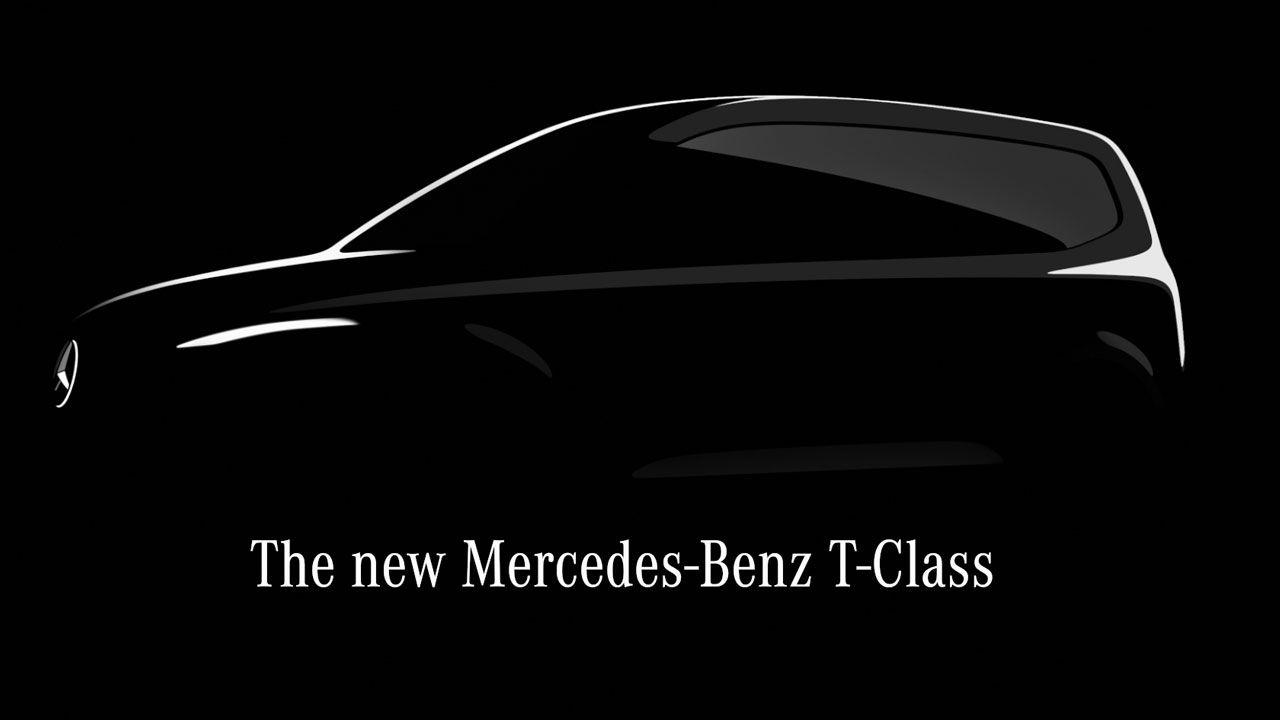 Mercedes Benz T Class Sketch