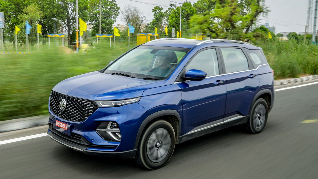Mg Hector Plus India