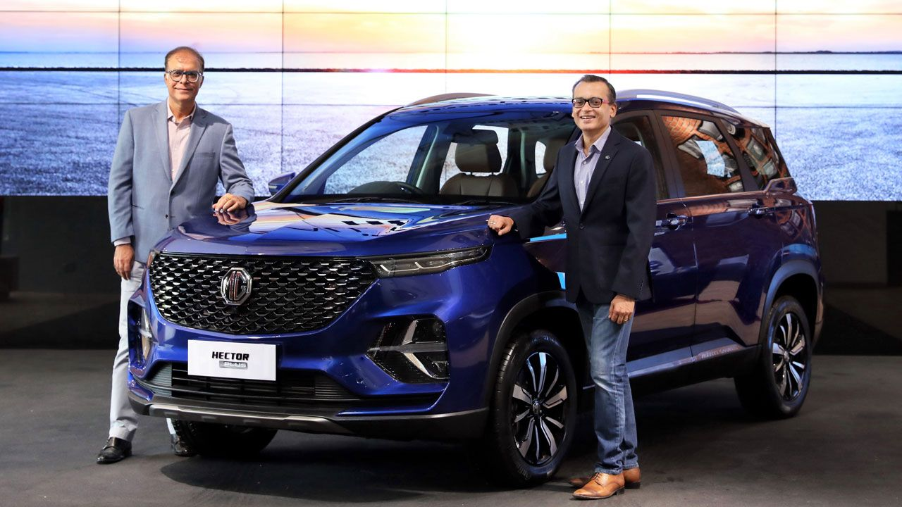 Mg Hector Plus Price